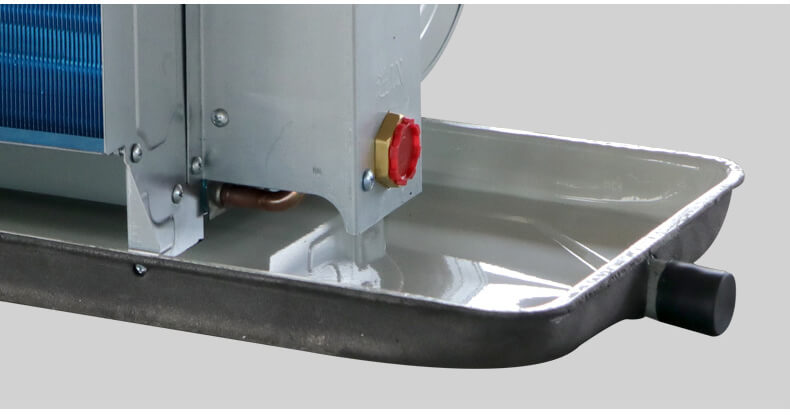 Horizontal Concealed Fan Coil Unit Water Pan